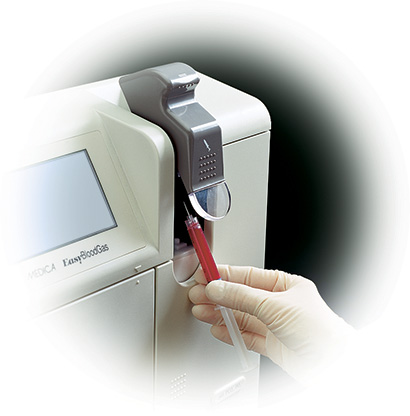 Blood gas analysis