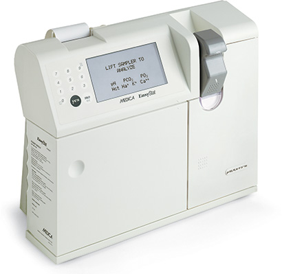EasyStat blood gas analyzer