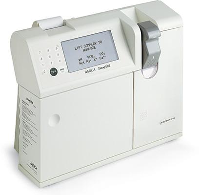 EasyStat blood gas analyzer